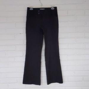 Banana Republic Black Flare Dress Pants w/ Pockets